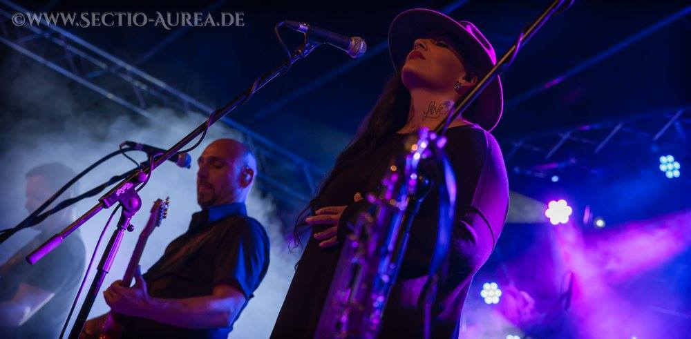 Echoes Live auf dem Open Air Burg Lemberg 2015